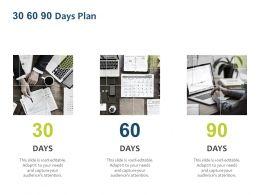 30 60 90 Days Plan Marketing L1116 Ppt Powerpoint Presentation Ideas