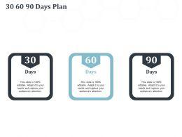 30 60 90 Days Plan N314 Ppt Powerpoint Presentation Graphics