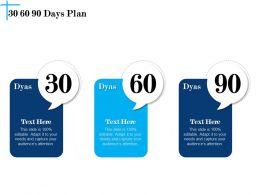 30 60 90 Days Plan N606 Powerpoint Presentation Tips
