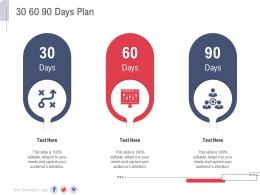 30 60 90 Days Plan New Service Initiation Plan Ppt Rules