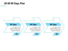 30 60 90 Days Plan Planning A793 Ppt Powerpoint Presentation Infographic Template Portrait