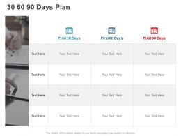 30 60 90 Days Plan Planning C890 Ppt Powerpoint Presentation Icon Graphic Tips