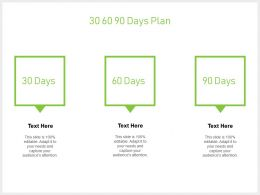 30 60 90 Days Plan Process J67 Ppt Powerpoint Presentation File