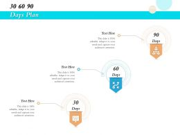 30 60 90 Days Plan R481 Ppt Infographics