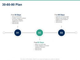 30 60 90 Plan C1492 Ppt Powerpoint Presentation Layouts Brochure