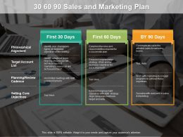 30 60 90 Sales And Marketing Plan