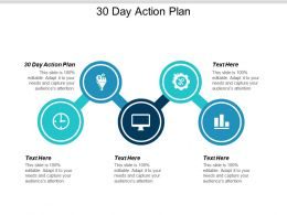 30 Day Action Plan Ppt Powerpoint Presentation File Design Inspiration Cpb