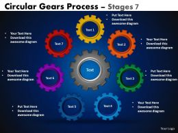34 Circular Gears Flowchart Process Diagram
