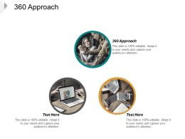 360 Approach Ppt Powerpoint Presentation Ideas Slide Cpb