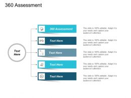 360 Assessment Ppt Powerpoint Presentation Diagram Images Cpb