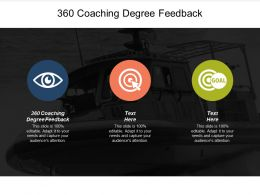 360 Coaching Degree Feedback Ppt Powerpoint Presentation Layouts Portrait Cpb