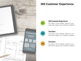 360 Customer Experience Ppt Powerpoint Presentation Portfolio Mockup Cpb