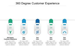 360 Degree Customer Experience Ppt Powerpoint Presentation Model Shapes Cpb