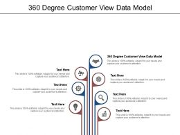 360 Degree Customer View Data Model Ppt Powerpoint Presentation File Portrait Cpb