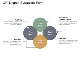 360 Degree Evaluation Form Ppt Powerpoint Presentation Ideas Portrait Cpb