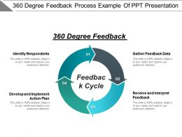 360 Degree Feedback Process Example Of Ppt Presentation