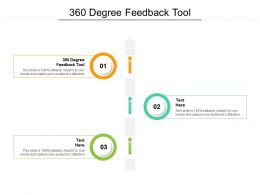 360 Degree Feedback Tool Ppt Powerpoint Presentation Infographic Template Graphics Tutorials Cpb