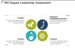 360 Degree Leadership Assessment Ppt Powerpoint Presentation Ideas Outfit Cpb
