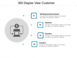 360 Degree View Customer Ppt Powerpoint Presentation Ideas Inspiration Cpb