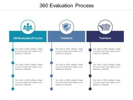 360 Evaluation Process Ppt Powerpoint Presentation Infographic Template Graphics Cpb