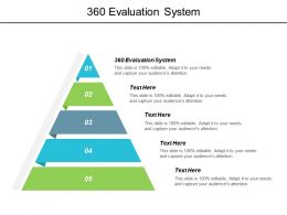 360 Evaluation System Ppt Powerpoint Presentation Gallery Deck Cpb