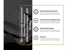 360 Leadership Assessment Human Resources Effectiveness Organic Seo Strategy Cpb