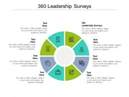 360 Leadership Surveys Ppt Powerpoint Presentation Pictures Shapes Cpb