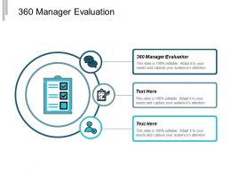 360 Manager Evaluation Ppt Powerpoint Presentation Infographic Template Portrait Cpb