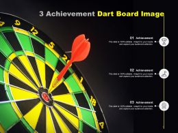 3 Achievement Dart Board Image