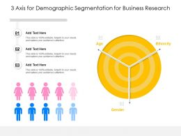 3 Axis For Demographic Segmentation For Business Research