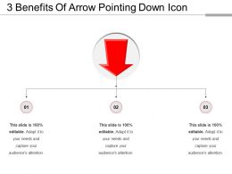 3 Benefits Of Arrow Pointing Down Icon
