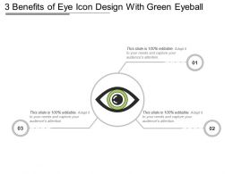 3 Benefits Of Eye Icon Design With Green Eyeball