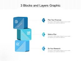 3 Blocks And Layers Graphic