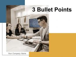 3 Bullet Points Demonstrating Innovation Process Marketing Optimization Leadership Business