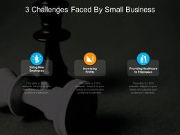 3 Challenges Faced By Small Business