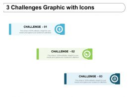 3 Challenges Graphic With Icons