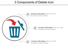 3 Components Of Delete Icon