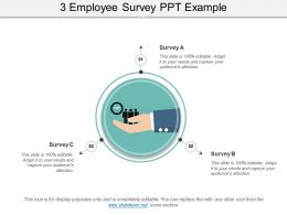 3 Employee Survey Ppt Example