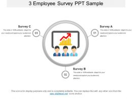 3 Employee Survey Ppt Sample
