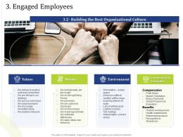 3 Engaged Employees Natural Lights Powerpoint Presentation Display