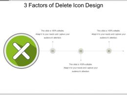 3 Factors Of Delete Icon Designs