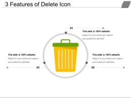 3 Features Of Delete Icon