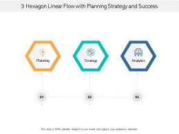 3 Hexagon Linear Flow With Planning Strategy And Success