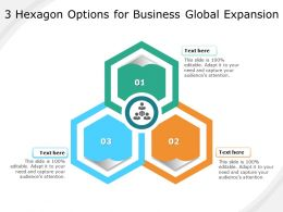 3 Hexagon Options For Business Global Expansion
