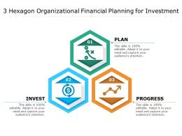 3 Hexagon Organizational Financial Planning For Investment