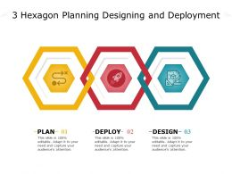 3 Hexagon Planning Designing And Deployment