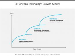 3 Horizons Technology Growth Model