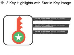 3 Key Highlights With Star In Key Image