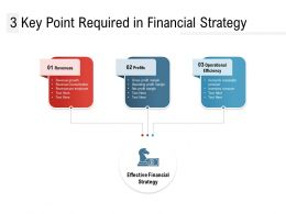 3 Key Point Required In Financial Strategy