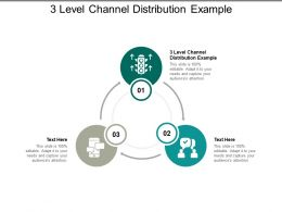 3 Level Channel Distribution Example Ppt Powerpoint Presentation Infographic Template Gallery Cpb